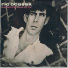 Ric Ocasek - Something To Grab For 45 RPM Record + PICTURE SLEEVE The Cars