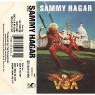 Sammy Hagar VOA AUDIO CASSETTE Geffen Records