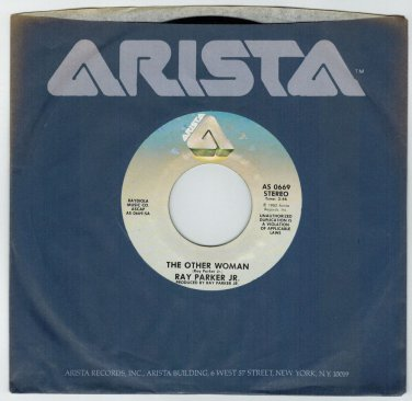 Ray Parker Jr. - The Other Woman 45 RPM RECORD