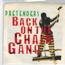 Pretenders - Back On The Chain Gang 45 RPM Record + PICTURE SLEEVE