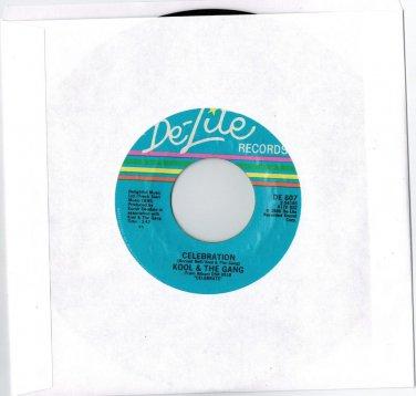 Kool & The Gang - Celebration 45 RPM RECORD