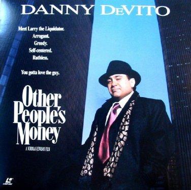 Other People's Money LASERDISC NTSC Danny Devito
