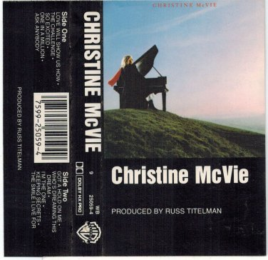 Christine McVie by Christine McVie AUDIO CASSETTE Solo Fleetwood Mac