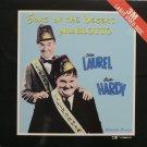 Laurel & Hardy Sons Of The Desert & Blotto  LASERDISC NTSC 3M