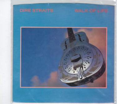 Dire Straits - Walk Of Life 45 RPM Record + PICTURE SLEEVE