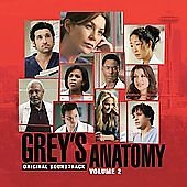 Grey's Anatomy Volume 2 Original Soundtrack CD 2003