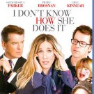 I Don't Know How She Does It Blu-ray NEW SEALED Sarah Jessica Parker