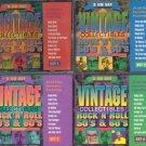 MCA Vintage Collectibles Set 1 2 3 4 - 12 CD SET Timeless Music 120 Tracks