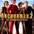 Anchorman 2: The Legend Continues Blu-ray / DVD, 2014 NEW SEALED + SLIPCOVER