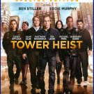 Tower Heist BLU RAY & DVD NEW SEALED Ben Stiller Eddie Murphy Alan Alda