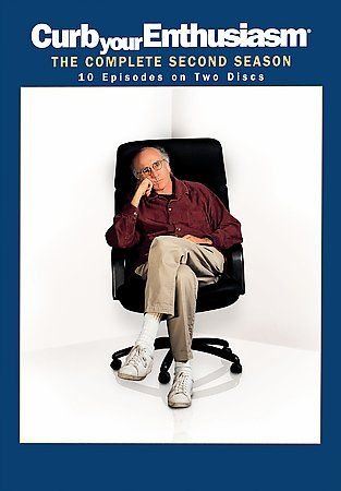 Curb Your Enthusiasm Season 2 DVD 2005 2-Disc Set Larry David Jeff Garlin