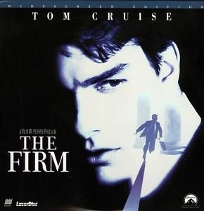 The Firm LASERDISC WIDESCREEN Tom Cruise NTSC