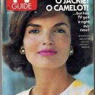 TV Guide Jacqueline Kennedy Onassis 1991 October 12-18 SAN FRANCISCO EDITION