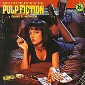 Pulp Fiction Original Soundtrack CD MCA - A Quentin Tarantino Film