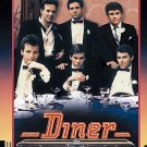 Diner DVD Mickey Rourke Kevin Bacon Paul Reiser Timothy Daly Daniel Stern