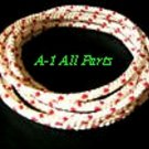 "No.3-1/2, 7/64"" ROPE,sold per 2' FT. Length 2' to 200',Cord,String,Pull Starter"