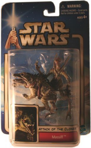 ATTACK OF THE CLONES MASSIFF ACTION FIGURE NEW IN PACKAGE