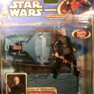 DARTH TYRANUS WITH FORCE FLIPPING ACTION HASBRO ACTION FIGURE