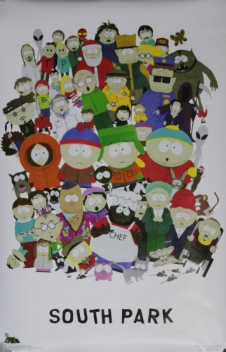 SOUTHPARK COMMERCIAL CHARACTER POSTER 1998