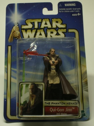 QUI GONN JEDI MASTER ACTION FIGURE NEW IN PACKAGE
