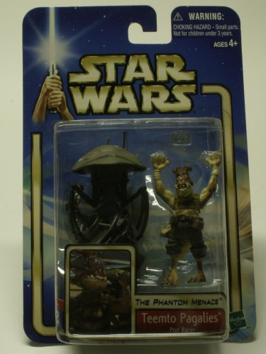 STAR WARS TEETMO PAGALIES POD RACER ACTION FIGURE NEW IN PACKAGE