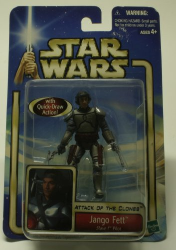 STAR WARS JANGO FETT AOTC ACTION FIGURE NEW IN PACKAGE