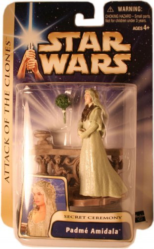 PADME AMIDALA SECRET CEREMONY ACTION FIGURE NEW IN PACKAGE