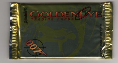 GOLDENEYE TRADING CARDS PACK FROM GRAFFITI with FREE SHIPPING