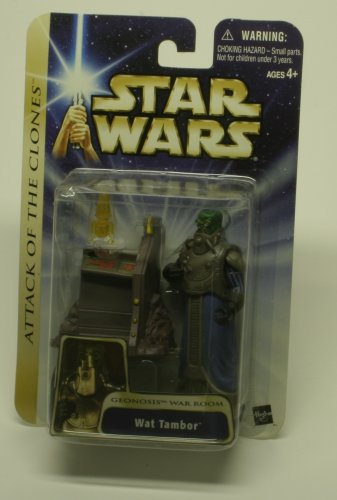ATTACK OF THE CLONES WAT TAMBOR ACTION FIGURE
