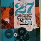 27th ANNUAL SF INTERNATIONAL LESBIAN & GAY FILM FESTIVAL poster 2003 Frameline