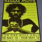 REGGAE MOVIE Roxie Cinema poster Steel Pulse Burning Spear Ziggy Marley