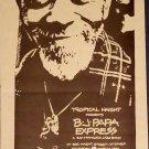 B.J. PAPA EXPRESS a San Francisco Jazz Band flyer 1990 Tropical Haight presents