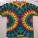 New Tie Dye Juvy Small (4) Alstyle Tshirt Rainbow Side Circle pattern t shirt