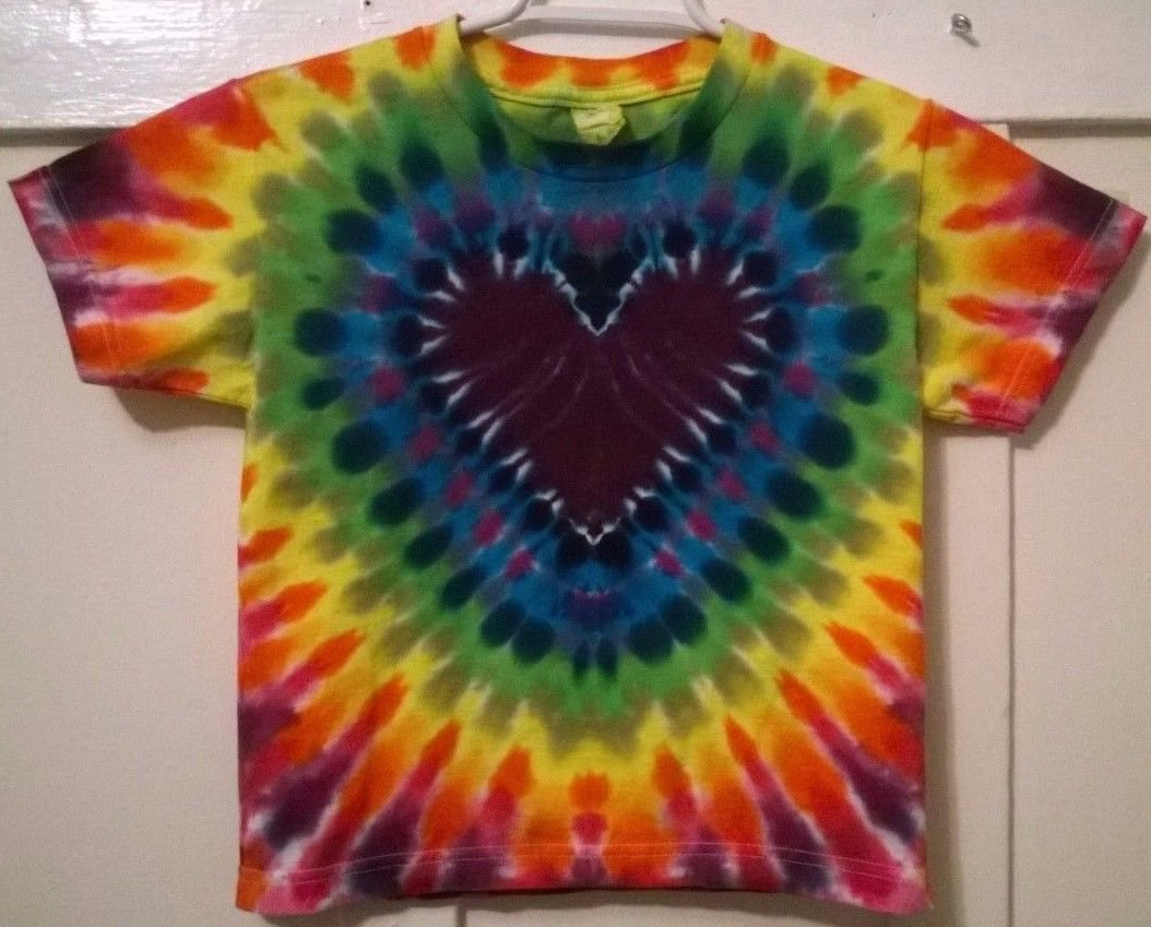 heart tie dye shirt u2014 crafthubs