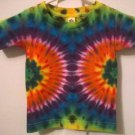 New Tie Dye Alstyle 2T Toddler Tshirt Rainbow side circle pattern t shirt