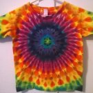 New Tie Dye Alstyle 4T Toddler Tshirt Rainbow Circle pattern t shirt
