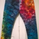 NEW Rainbow Tie Dye Levi's 501 Straight Leg Button Fly Jeans 33 x 32 Andy Castle *FREE US SHIPPING*