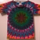 New Tie Dye Alstyle 2T Toddler Tshirt Circular pattern Rainbow colors t shirt