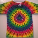New Tie Dye Alstyle 2T Toddler Tshirt Circular pattern Rainbow t shirt