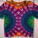 Tie Dye 2 Toddler 55% Hemp 45% Cotton Short Sleeve T-shirt New Rainbow Mirror Circles