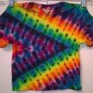 Tie Dye 2 Toddler 55% Hemp 45% Cotton Short Sleeve T-shirt New Rainbow Chevron