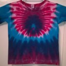 New Tie Dye Alstyle 4T Toddler 100% Cotton Short Sleeve T-shirt Multi-color Scarab