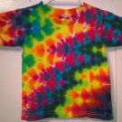 New Tie Dye Alstyle 4T Toddler 100% Cotton Short Sleeve T-shirt Multi-color Lightning