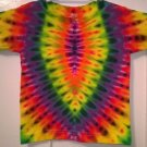 New Tie Dye Alstyle 3T Toddler 100% Cotton Short Sleeve T-shirt Multi-color Shield