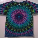 New Tie Dye Alstyle 3T Toddler 100% Cotton Short Sleeve T-shirt Multi-color Circle