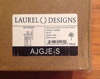 laurel designs outdoor weathered lighting wall mounted fixture 2