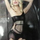Bodacious Striped Bodystocking LBS014