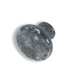 large mushroom knobs-Blue Pearl