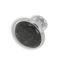 Cabinet knobs-chrome finished Black Galaxy