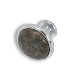 Cabinet knobs-chrome finished-Labrado Antique